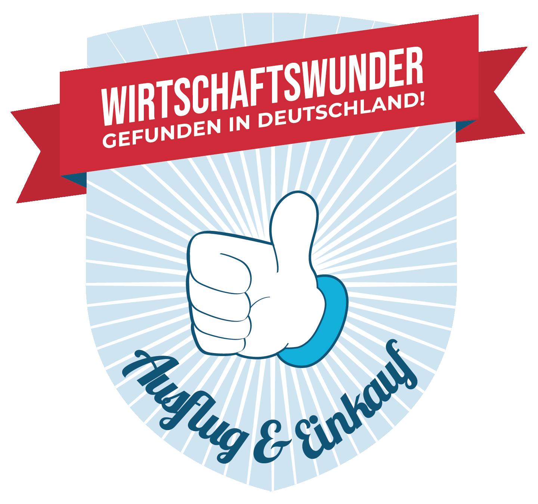Daumen hoch für Ausflug & Einkauf in Deutschland